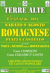 Romagnese, Terre Alte Folk Festival
